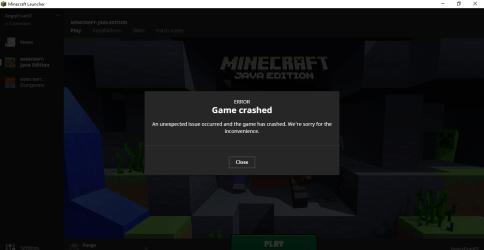 Minecraft Forge 1 7 10 Crashing on Launch Java Edition Support Support Minecraft Forum Minecraft Forum