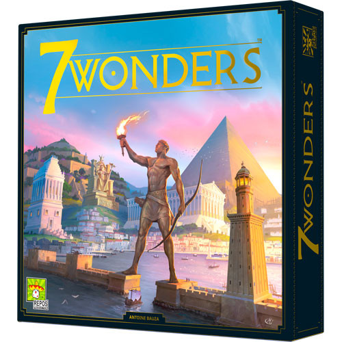 7 Wonders (New Edition) | Board Games | Miniature Market