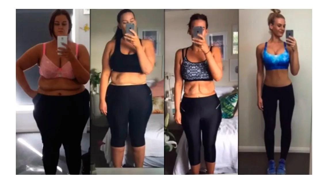 VIDEO: La historia de la mujer que perdió 100 kg en dos años | Salud