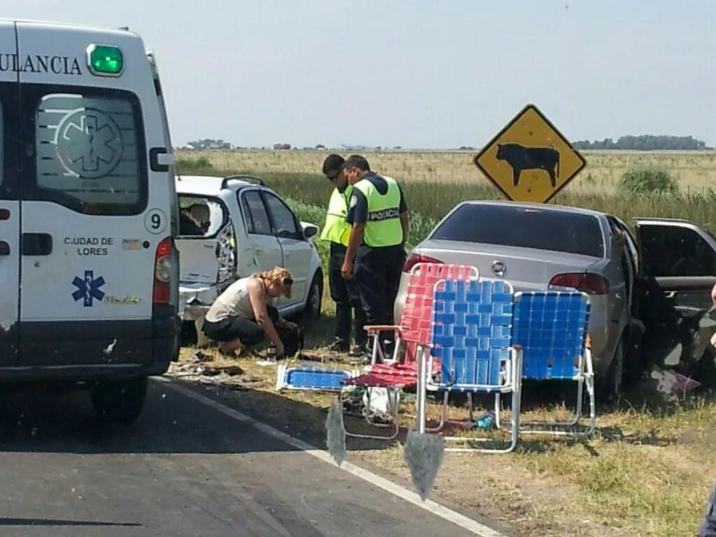 Choque múltiple en la ruta 11 deja varios heridos   Inseguridad vial