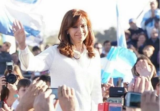 Cristina en Florencio Varela - Crédito: Instagram Cristina Kirchner<br>