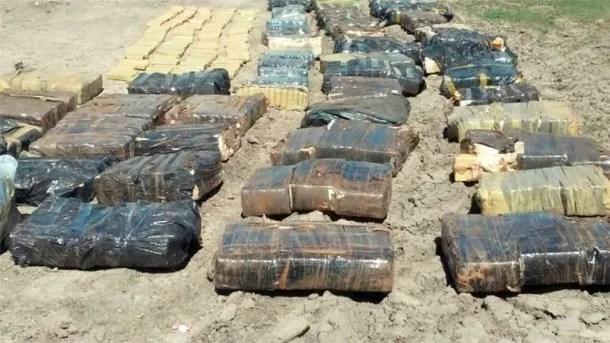 Incautaron 10 toneladas de marihuana - Crédito: www.elonce.com<br><br>