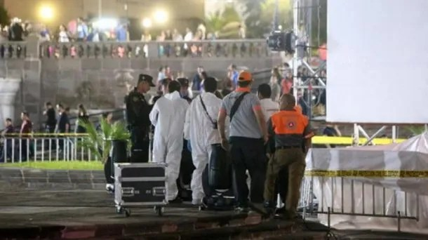 Una acróbata argentina murió en México - Crédito: El Universal
