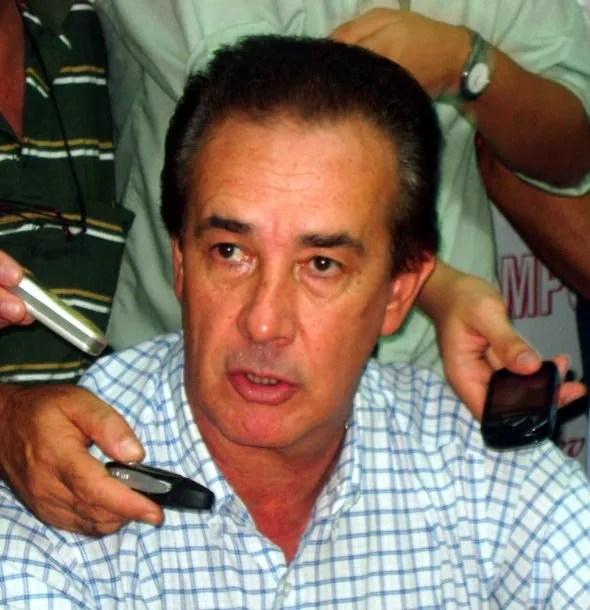 """El senador santafesino """"Chacho"""" Marcón<br>"""