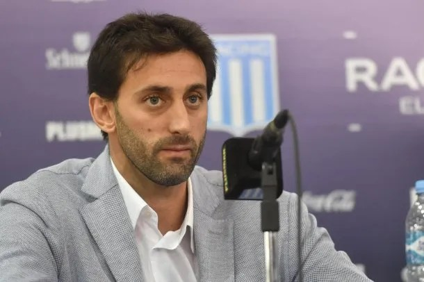 Diego Milito anunció que aspira a ser presidente de Racing