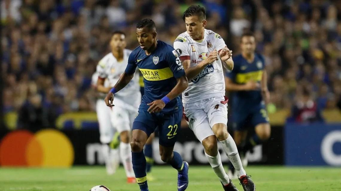 Boca goleó a Deportes Tolima y sumó su primer triunfo en la Copa Libertadores