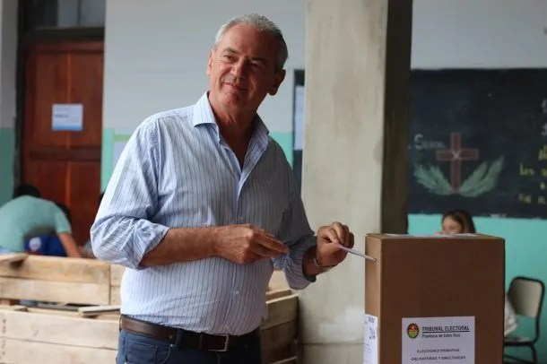 Atilio Benedetti, candidato a gobernador de Entre Ríos por Cambiemos<br data-recalc-dims=