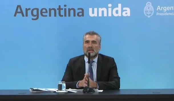 Alejandro Vanoli, titular de la Anses: el organismo cruzará datos con AFIP para entregar el IFE