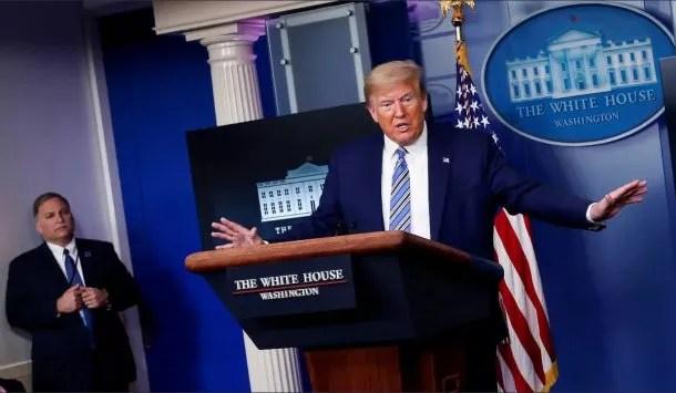 Donald Trump manejó a su estilo la respuesta de Estados Unidos a la pandemia de coronavirus, tiene intenciones de apurar la salida de la cuarentena e instalar la nueva normalidad