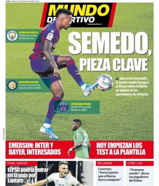 El diario Mundo Deportivo anticipó una nueva oferta del Barcelona por Lautaro Martínez