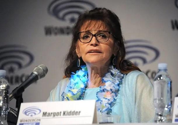 Margot Kidder, Luisa Lane en Superman - Crédito: IMDB