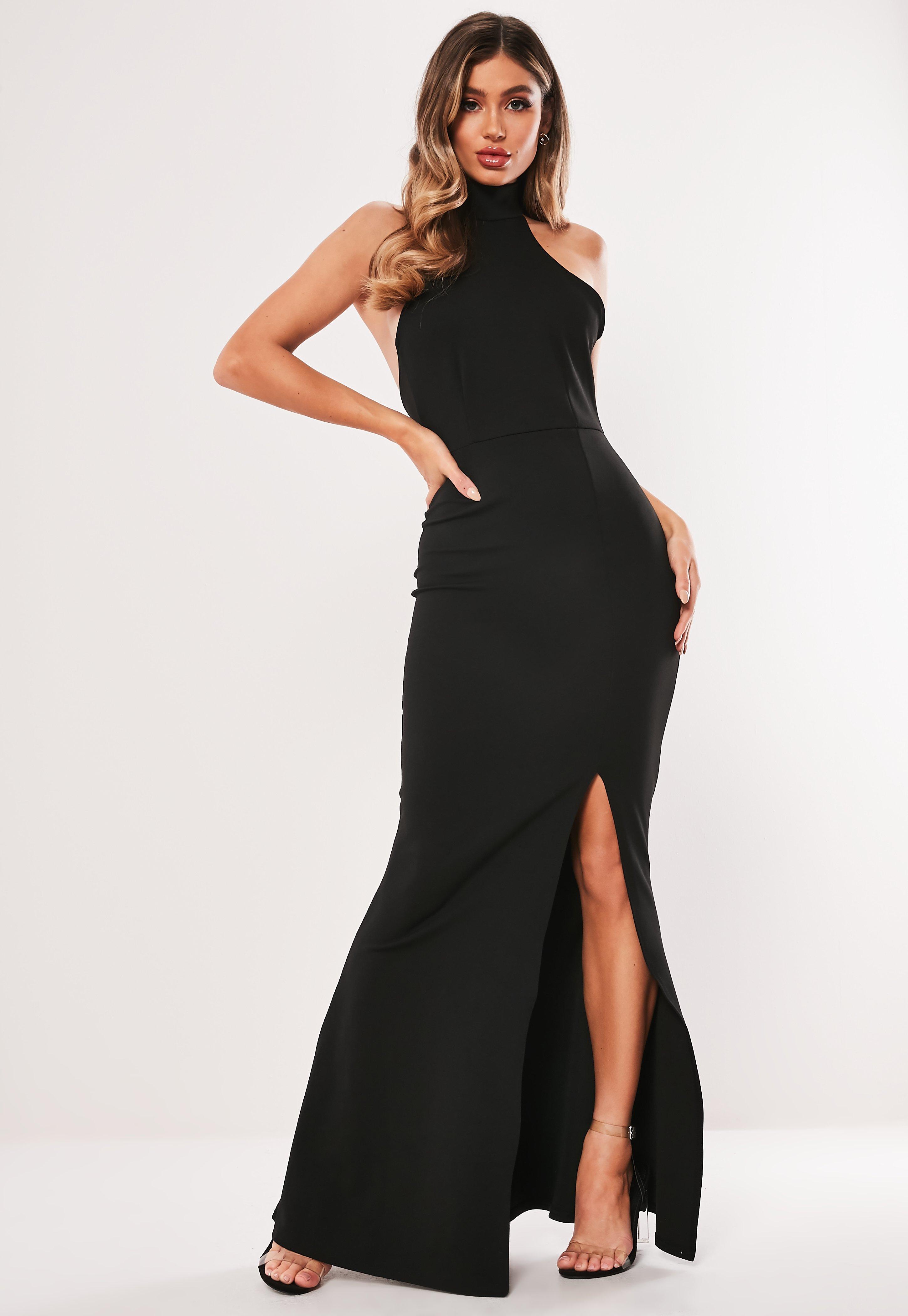 Black Choker Maxi Dress  Missguided