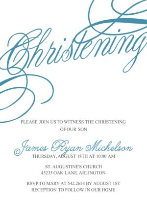 baptism christening invitations christening