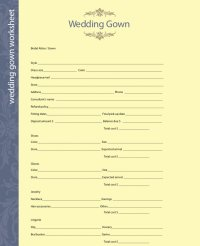 Use these fill-in-the-blank wedding planning worksheets to ...
