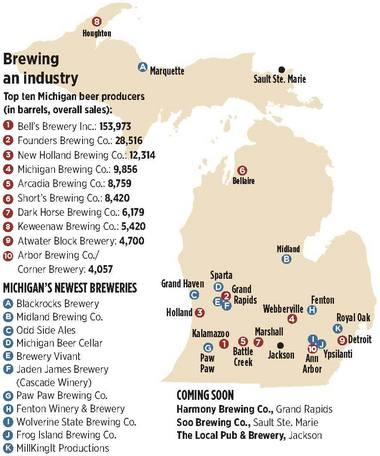 Image result for state maps of breweries