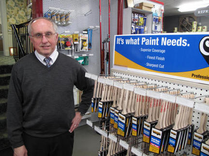 Paint supply vendor