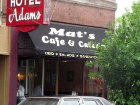 Image result for mats cafe and catering jackson mi