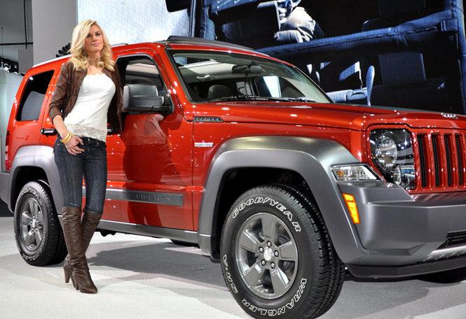 Jeep Liberty on Ridin'Girls Blog