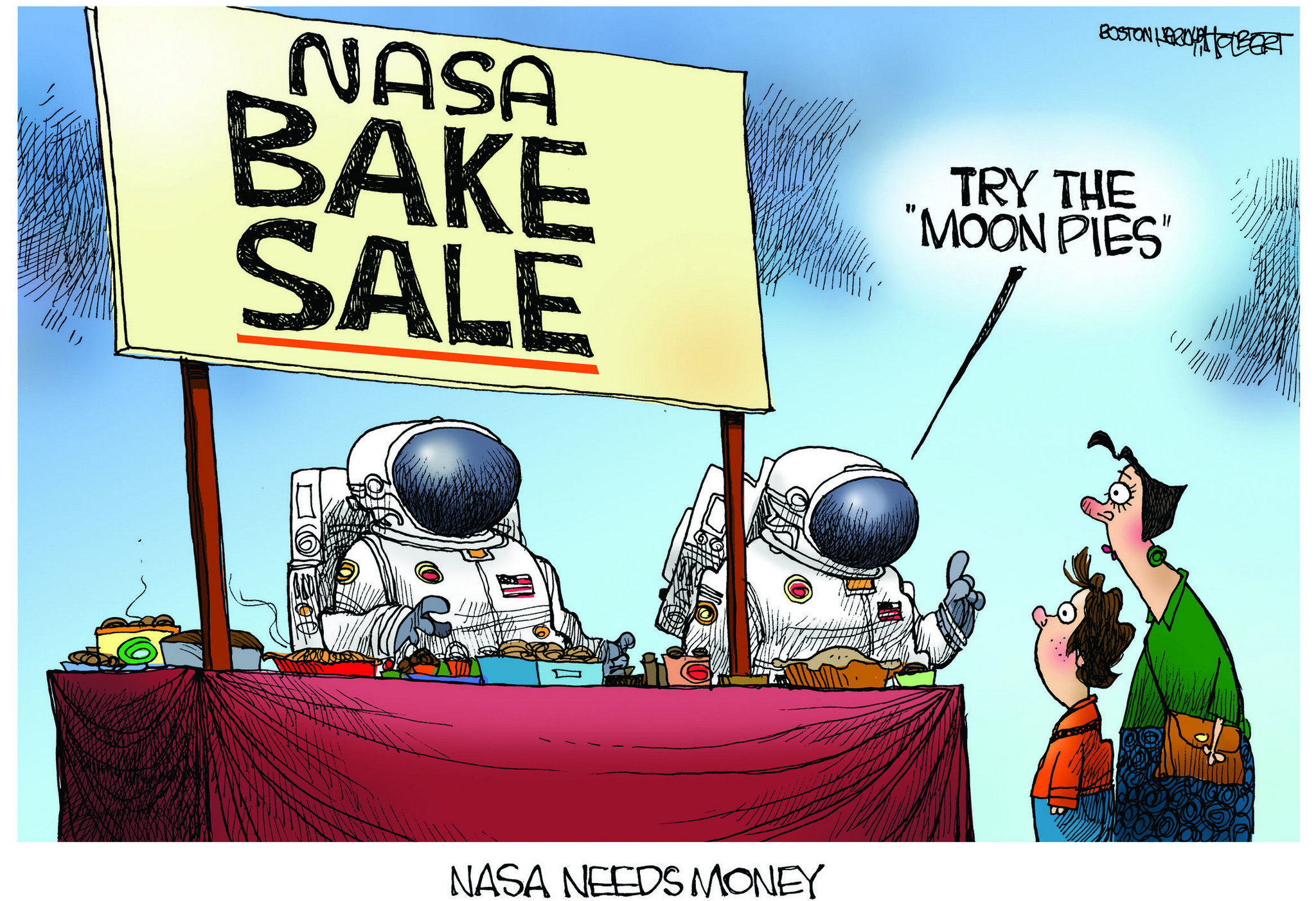 Image result for nasa cartoon
