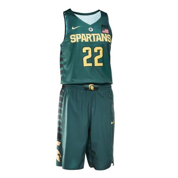 81cee509e95 New Nike Michigan State Basketball Uniforms - Year of Clean Water