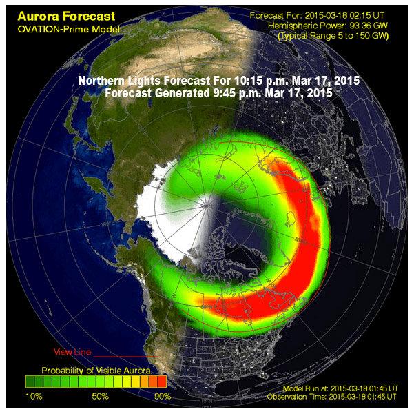 Northern Lights Mn Forecast