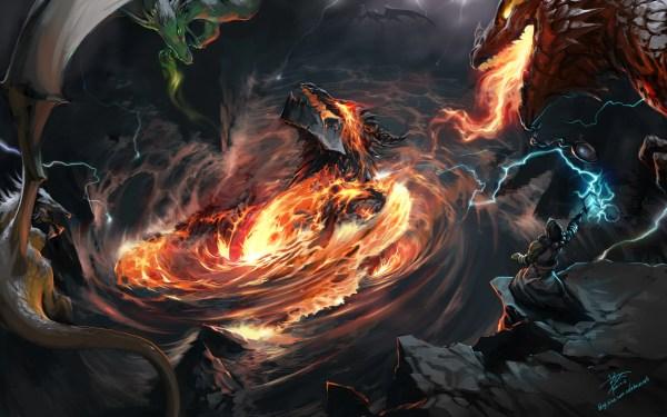 Deathwing World of Warcraft Fan Art