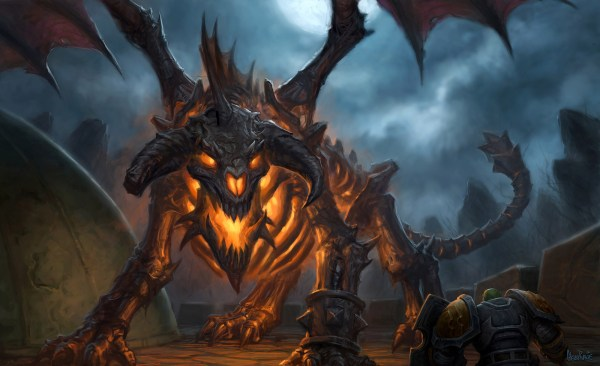 World of Warcraft Dragon Art
