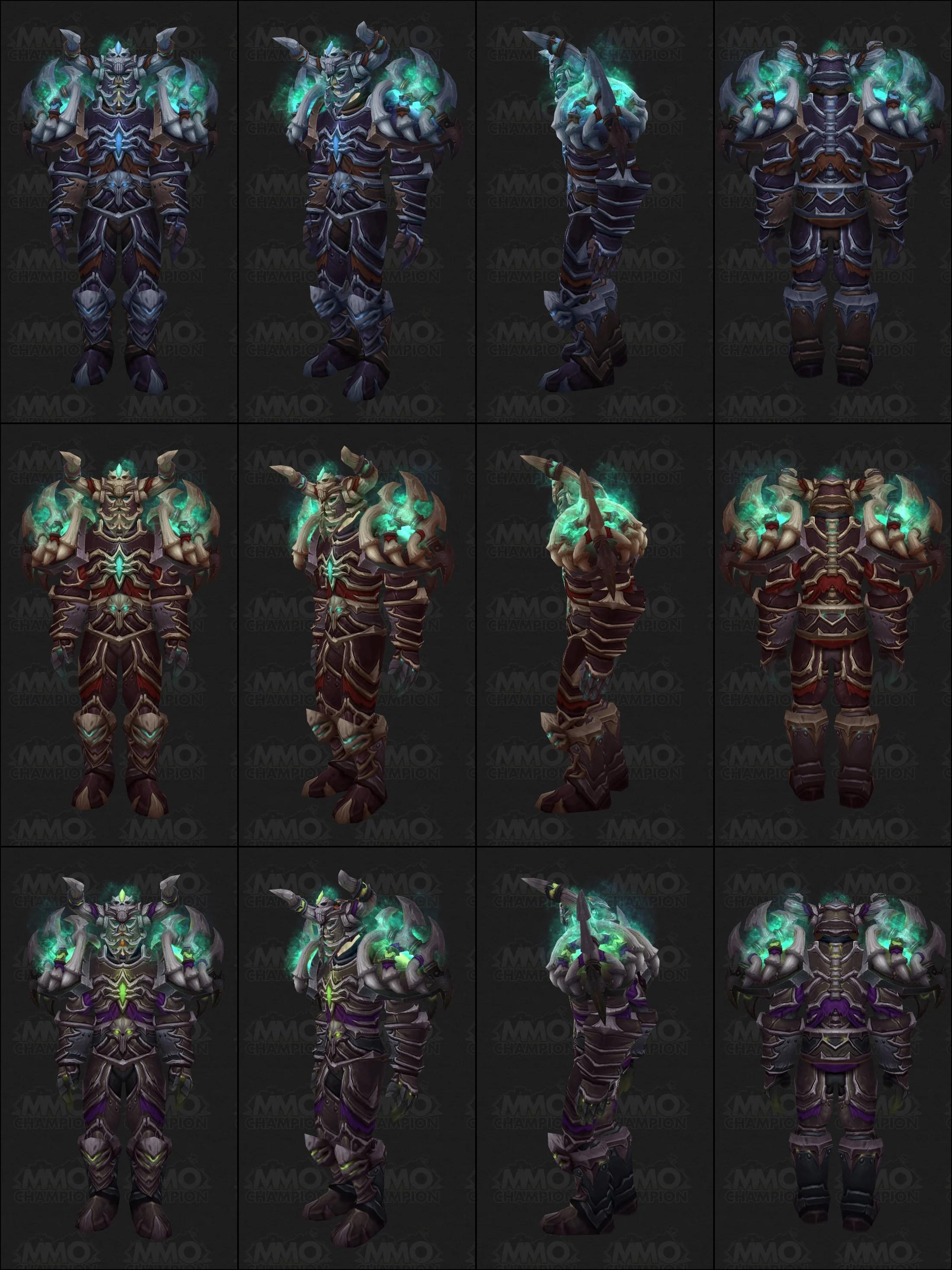 tier 13 death knight armor