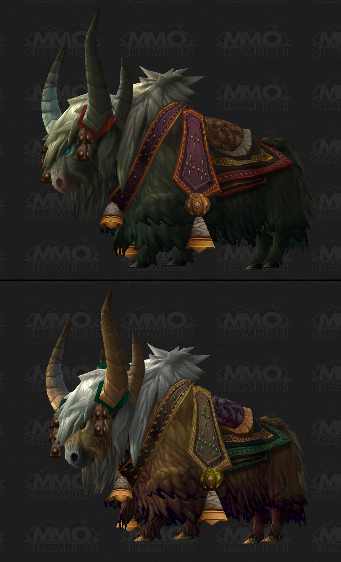 Grand Expedition Yak : grand, expedition, Mounts, Mists, Pandaria, MMO-Champion