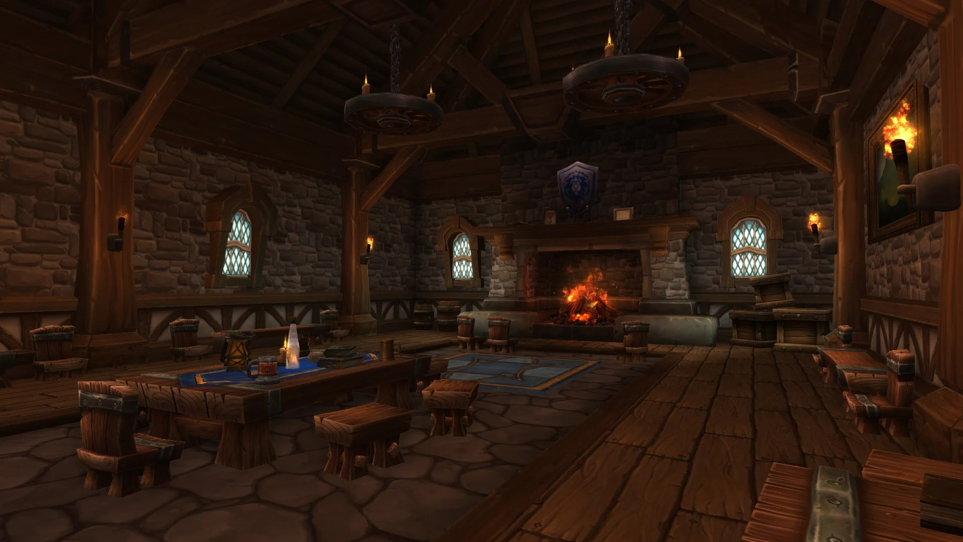 Warlords of Draenor  Garrisons Town Hall  Great Hall