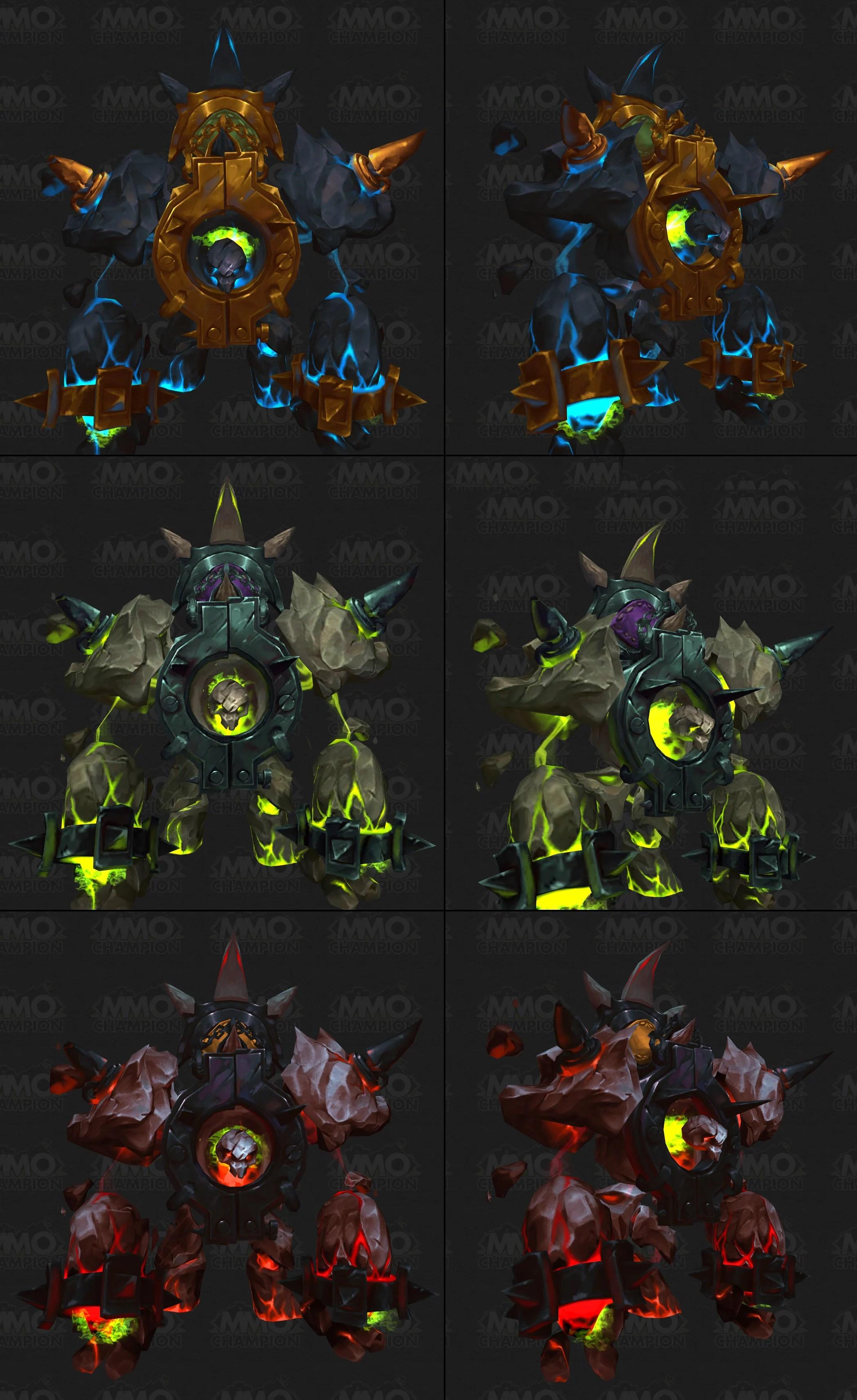Class mount - Wowpedia, the World of Warcraft wiki
