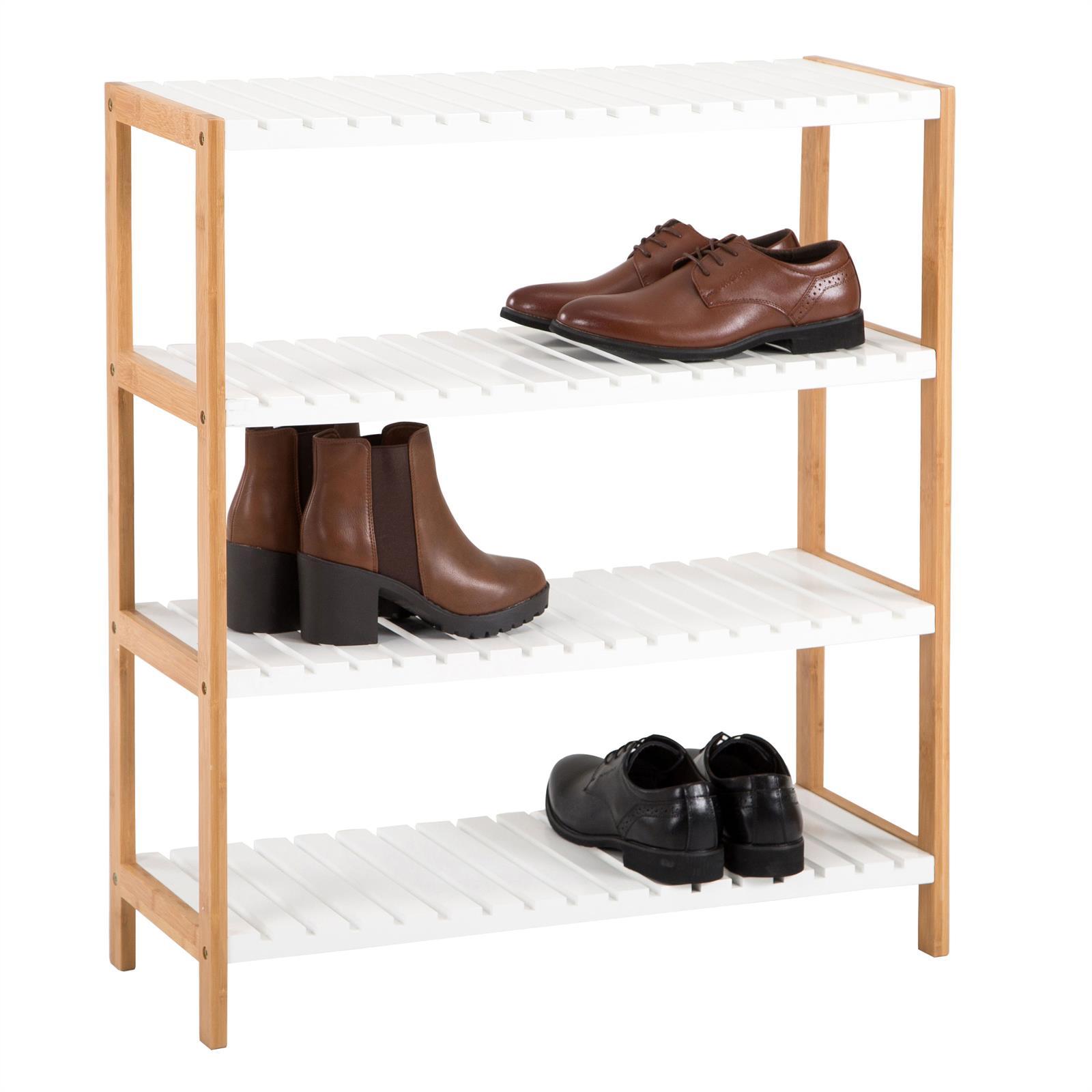 Etagres Chaussures ABILENE 4 Tablettes En Bambou