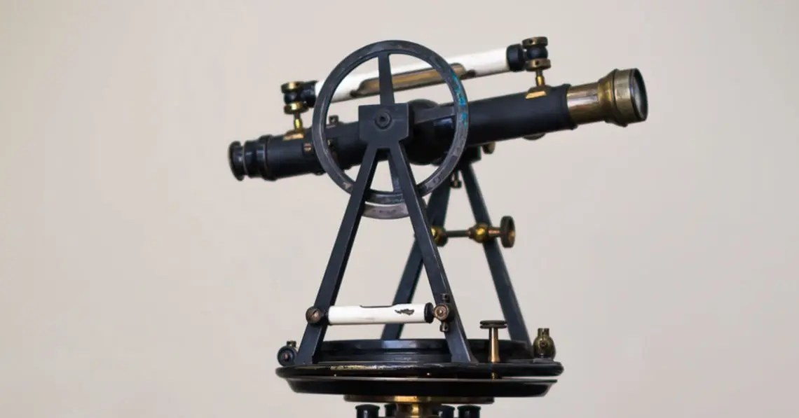 Photo of old telescope representative of search engine optimization