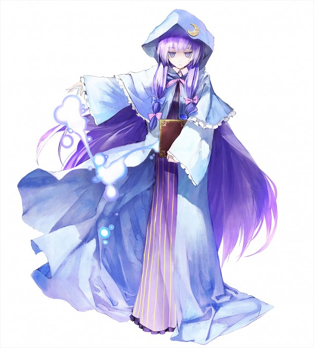 Anime Devil Wallpaper Patchouli Knowledge Image Anime Fans Of Moddb Mod Db
