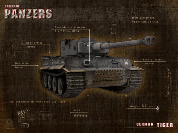 Ww2 Hd Wallpaper Codename Panzers Wallpaper Tiger Image Tank Lovers