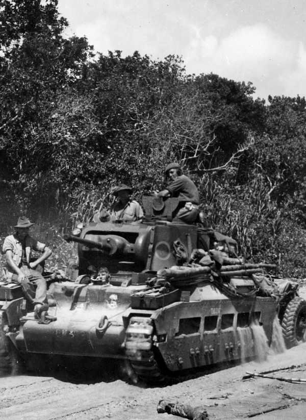 Australian Matilda IV in action image  Tank Lovers Group  Mod DB
