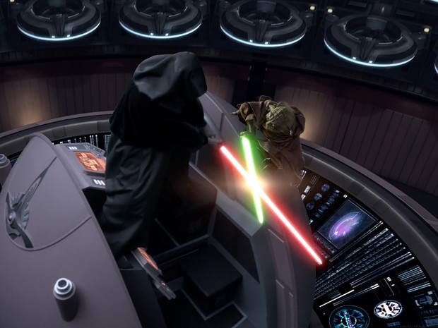 Image result for Yoda vs Sidious