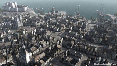 medieval fantasy castle concept cities town deviantart moddb members villages cityscape towns tamriel population statue density concepts tower bodiam architecture