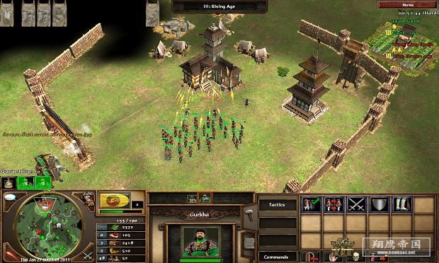 Age of Empires 3 screenshots image - Senathipathy - Mod DB