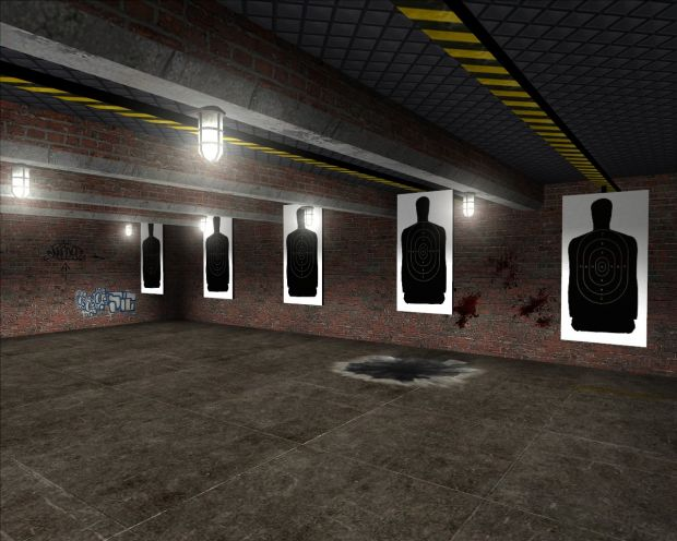 New shooting range image  Police Brutality mod for Half