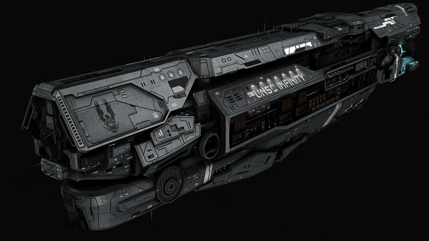 Infinity Sign Wallpaper Hd Unsc Infinity Class Warship Image Sins Of The Prophets