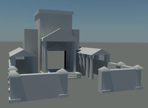 Barracks Greek image  ROME mod for CC Generals Zero