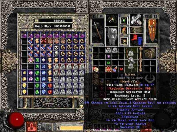 Slither Runeword Image Zy El Trial By Fire Mod For