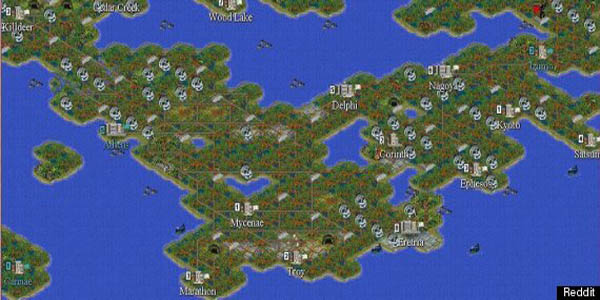 map image  The Eternal War mod for Civilization II  Mod DB