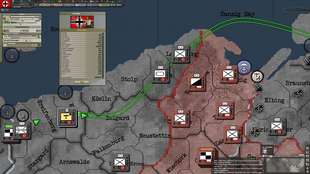 Adolf Hitler flying to Knigsberg image  Black ICE Mod for Hearts of Iron III Their Finest