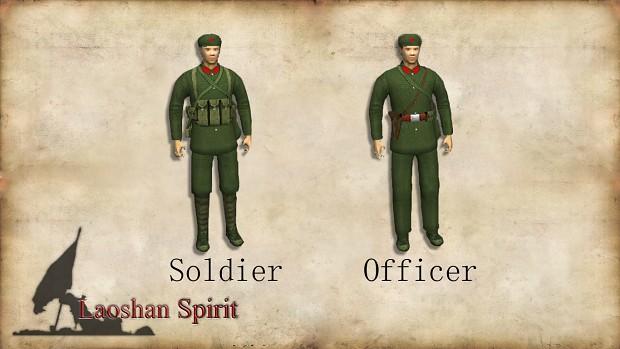 Pla Soldier Amp Officer Image Sino Vietnamese Border