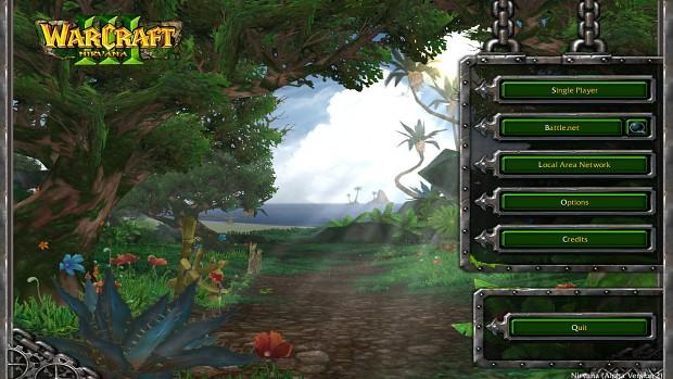 MainMenu image  Warcraft III Nirvana mod for Warcraft