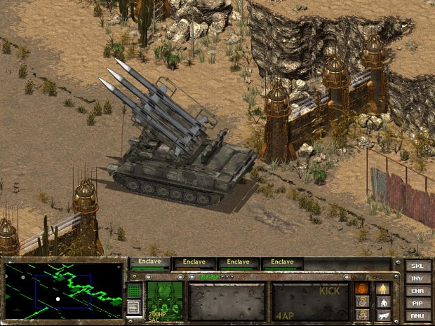 New sprites image  Fallout Enclave II mod for Fallout Tactics Brotherhood of Steel  Mod DB
