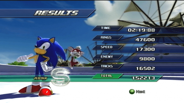 Sonic Unleashed For The Xbox 360 Windmill Isle Image