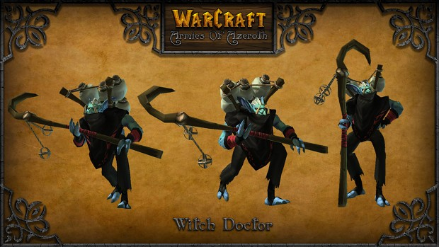 Witch Doctor image  Warcraft Armies of Azeroth mod for